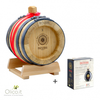 Acetaia di Famiglia Due Vittorie: Balsamic Vinegar of Modena PGI Oro with Oak barrel 3 lt