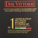 Acetaia di Famiglia Due Vittorie: Aceto Balsamico di Modena IGP Oro con Botte di Rovere 3 lt