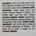 8 barrels - Dressing with balsamic vinegar of Modena PGI