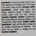 10 fûts - Condiment avec vinaigre balsamique de Modène IGP