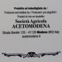 12 barrels - Dressing with balsamic vinegar of Modena PGI