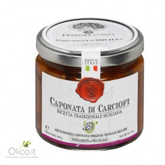Caponata of Artichokes Sicilian Recipe 190 gr