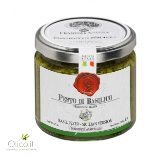 Pesto Basilico Versione Siciliana 190 gr