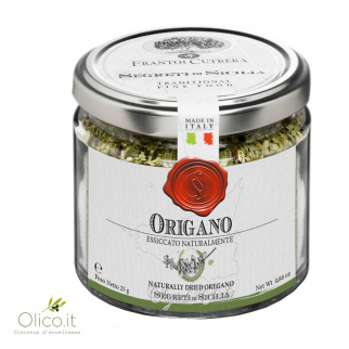 Origan naturellement séché 25 gr