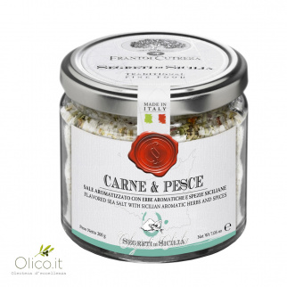 Flavoured Sea Salt with Herbs and Spices for Meat and Fish  200 gr
