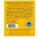 "Balsamic Vinegar of Modena PGI 4 Gold Medals ""Quarto Centenario"" 250 ml"
