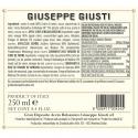 Duetto Aceto Giusti: Balsamico di Modena IGP 2 Medaglie Oro 250 ml e Condimento Mela 250 ml