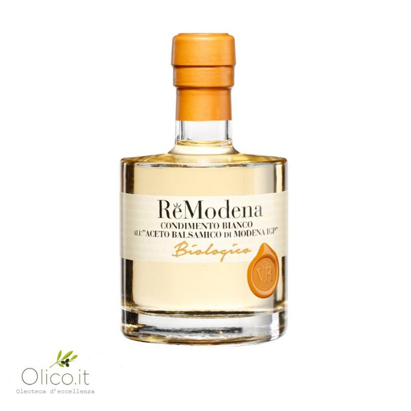 Organic White Dressing with Balsamic Vinegar of Modena PGI
