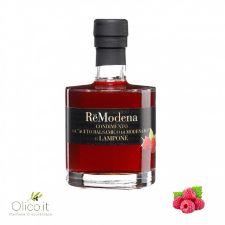 Dressing with Balsamic Vinegar of Modena PGI and Raspberries
