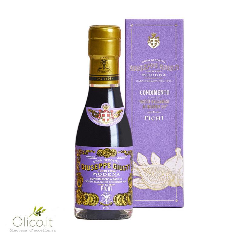 Condimento a base di Aceto Balsamico di Modena IGP e Fichi in confezione regalo 100 ml