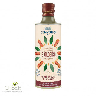 Biologische Pinda-olie 500 ml