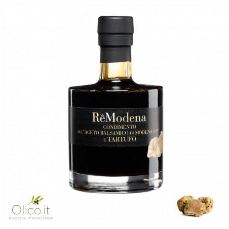 Dressing with Balsamic Vinegar of Modena PGI and White Truffle