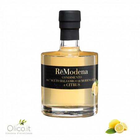 Condimento all'Aceto Balsamico di Modena IGP e Limone