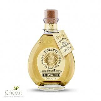Dolceto Witte Dressing van Balsamico azijn uit Modena PGI Due Vittorie 250 ml