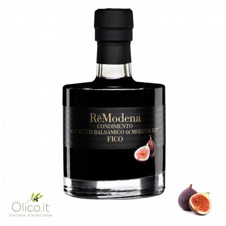 Condimento con Vinagre Balsámico de Módena IGP e higo 250 ml