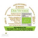 Vinaigre Balsamique de Modena IGP Due Vittorie Oro Biologique 500 ml