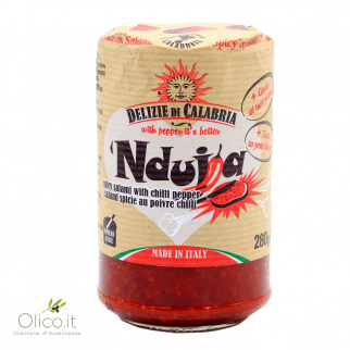 'Nduja Calabrian Spicy Spreadable Salami 280 gr