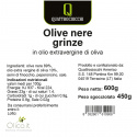 Olive Verdi Dolci Denocciolate Condite in Olio Extra Vergine di Oliva 500 gr