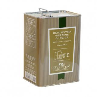 Huile d'Olive Extra Vierge Fruitée Moyenne 3 lt