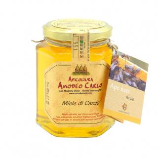 Miel de Chardon Abeille Noire Sicilienne 400 gr