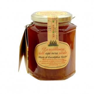 Miel d'Eucalyptus tardivo Abeille Noire Sicilienne 400 gr