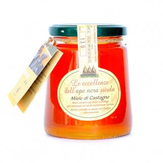 Chestnut Honey Sicilian Black Bee 400 gr