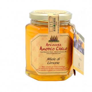 Lemon Honey Sicilian Black Bee 400 gr