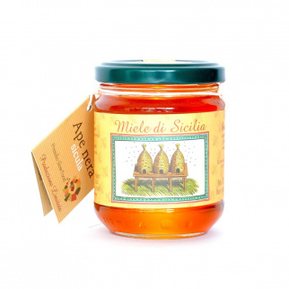 Thyme Honey Sicilian Black Bee 250 gr