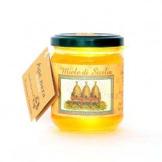 Miel d'Astragale Nebrodensis Abeille Noire Sicilienne 250 gr