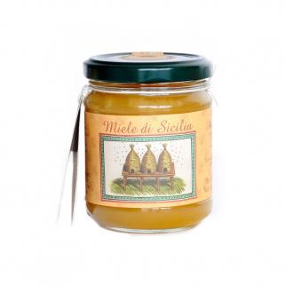 Miel d'Amandier Abeille Noire Sicilienne 250 gr