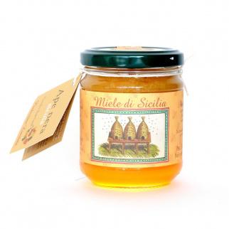 Carob Honey Sicilian Black Bee 250 gr