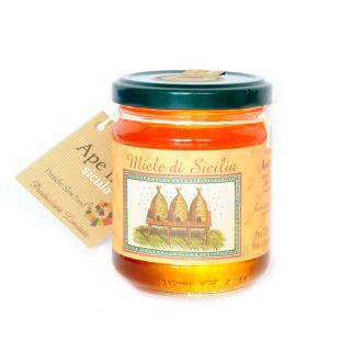 Miel de Néflier Abeille Noire Sicilienne 250 gr