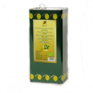Biologisches natives Olivenöl extra Secchi 5 lt