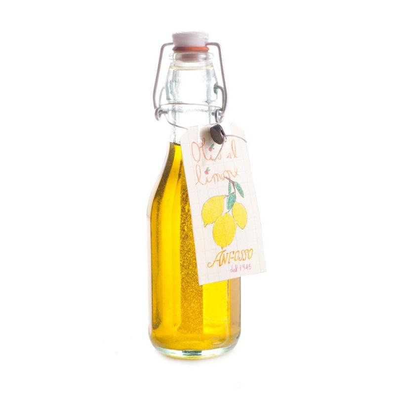 Olio Extra Vergine di Oliva aromatizzato al Limone