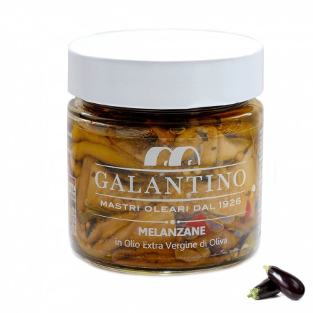 Melanzane in Olio Extra vergine di Oliva 230 gr