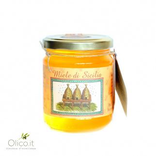 Miel de Mandarinier Tardif de Ciaculli - Abeille Noire Sicilienne