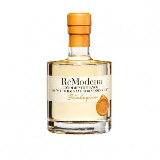 Condiment Blanc Biologique au Vinaigre Balsamique de Modena IGP 250 ml