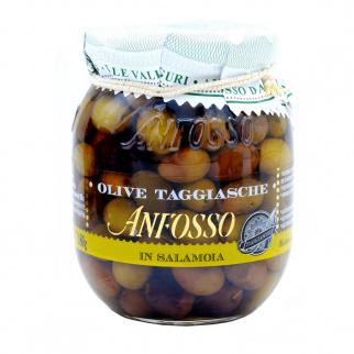 Taggiasca Oliven in Salzlake 290 gr