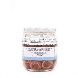 Anchovy Fillets with Caper in Olive Oil 105 gr