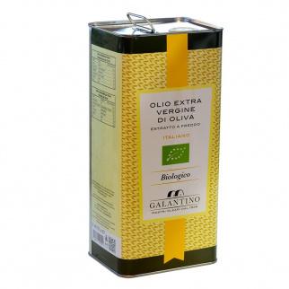 Huile d'Olive Extra Vierge Biologique 5 lt