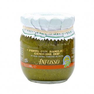 Pesto avec Basilic Génois AOP 180 gr