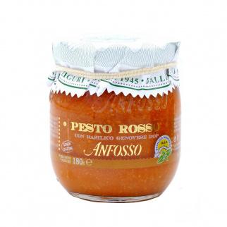 Pesto Rosso con Basilico Genovese DOP 180 gr