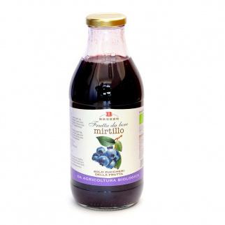 Organic Blueberry Juice 750 ml