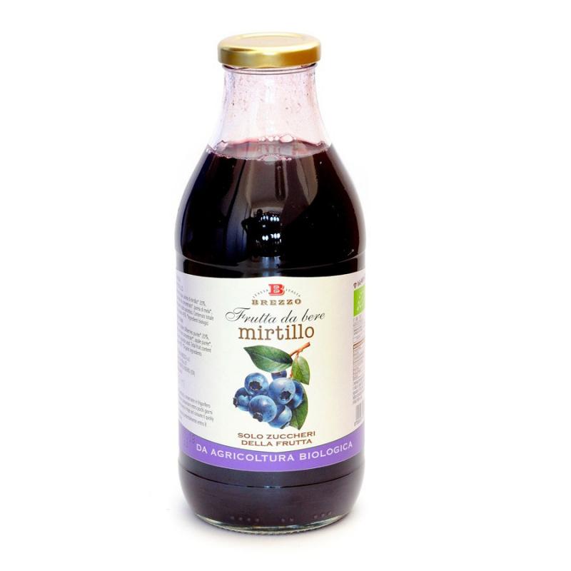 Succo di Frutta Biologico al Mirtillo