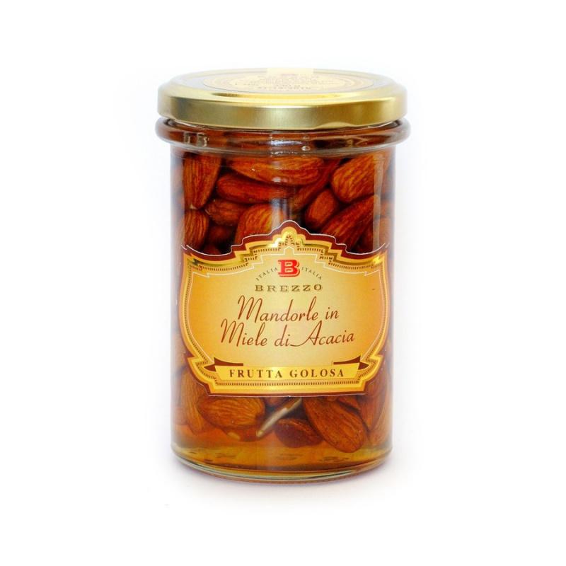 Almonds in Acacia Honey