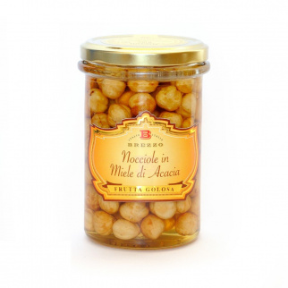 Hazelnuts in Acacia Honey 330 gr