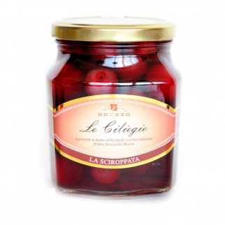 Cherries in syrup 600 gr