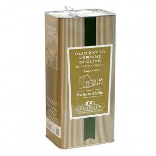 Huile d'Olive Extra Vierge Fruitée Moyenne 5 lt