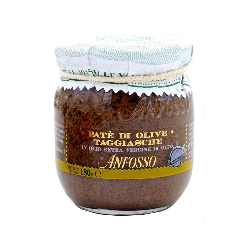 Black Taggiasche olives Paste