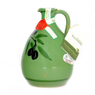 Handmade Ceramic Jar Tony with Extra Virgin Olive Oil 500 ml
